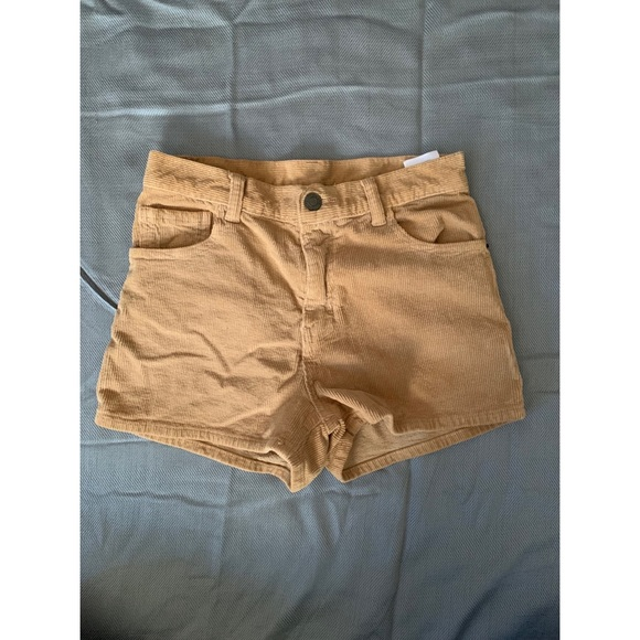 Brandy Melville Pants - Brandy Melville Corduroy Shorts